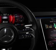 Mercedes My MBUX : l'intérieur de la future Classe S est impressionnant