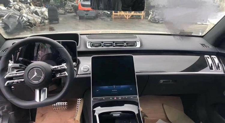 Des images en fuite de la Mercedes Classe S 2020
