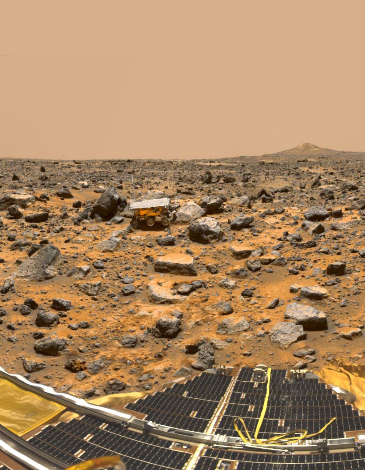 Mars Pathfinder © NASA/JPL