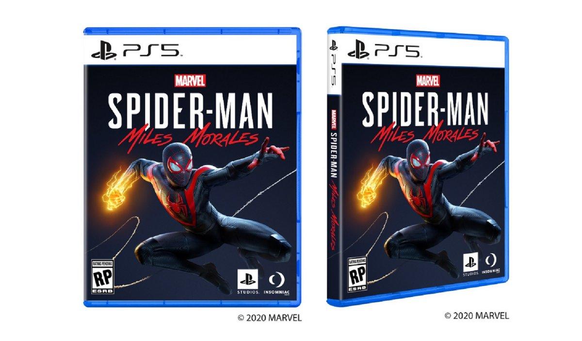 Boîtier PS5 Spider-Man