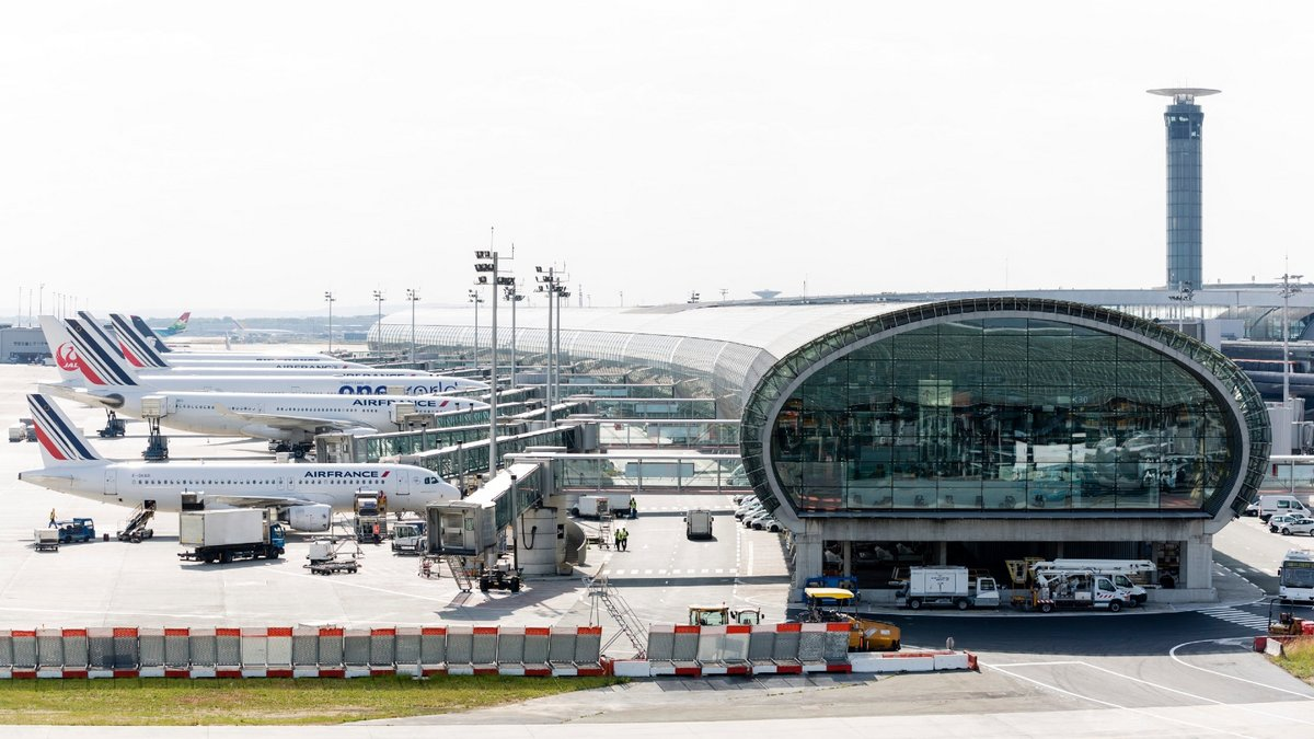 Hall K Terminal 2 Aéroport Paris-CDG © Groupe ADP