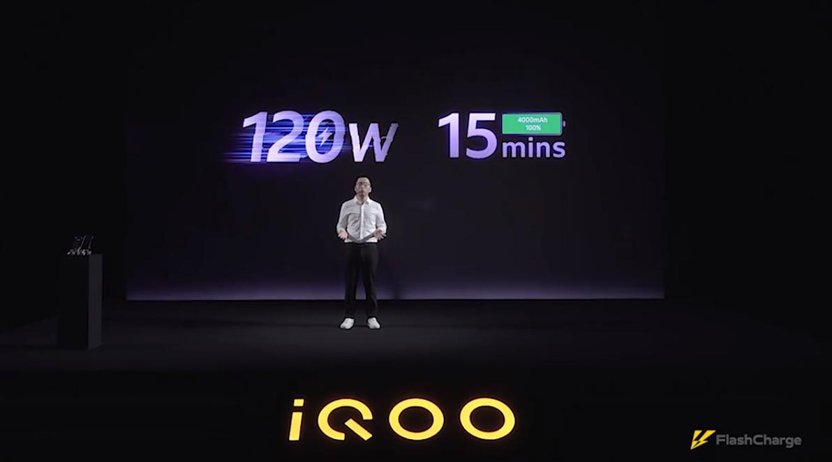 IQOO fast charge © Gizmochina