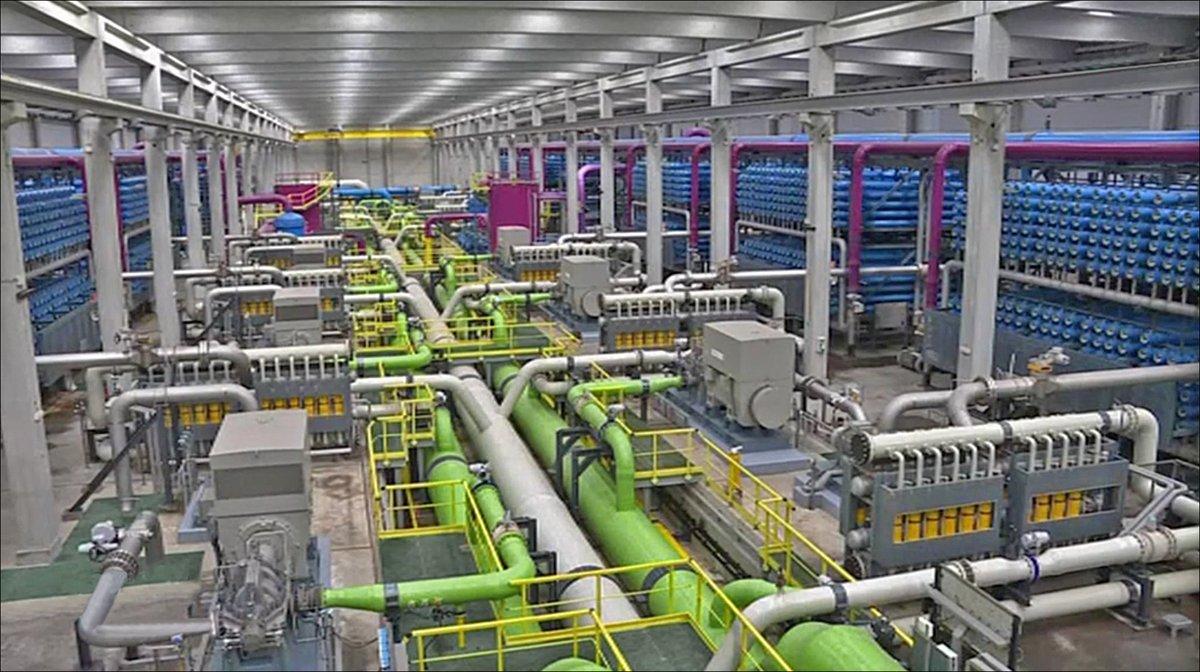 Usine dessalement désalinisation