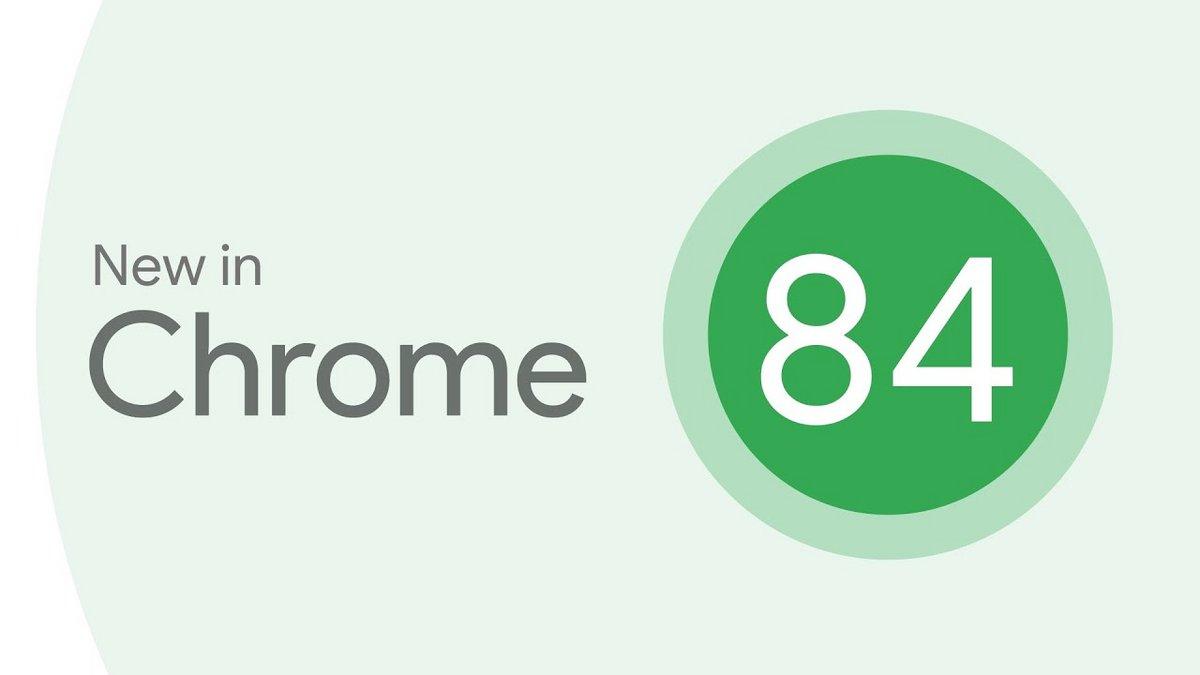 Chrome 84 © Chrome