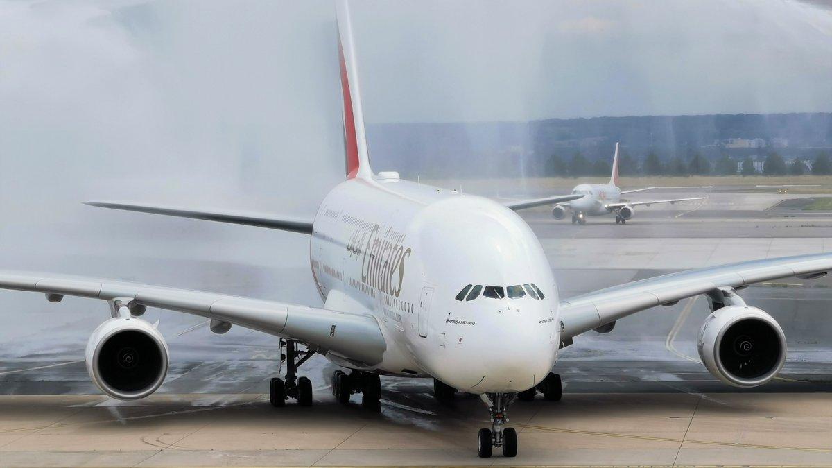 Emirates A380 Roissy-CDG © Alexandre Boero pour Clubic