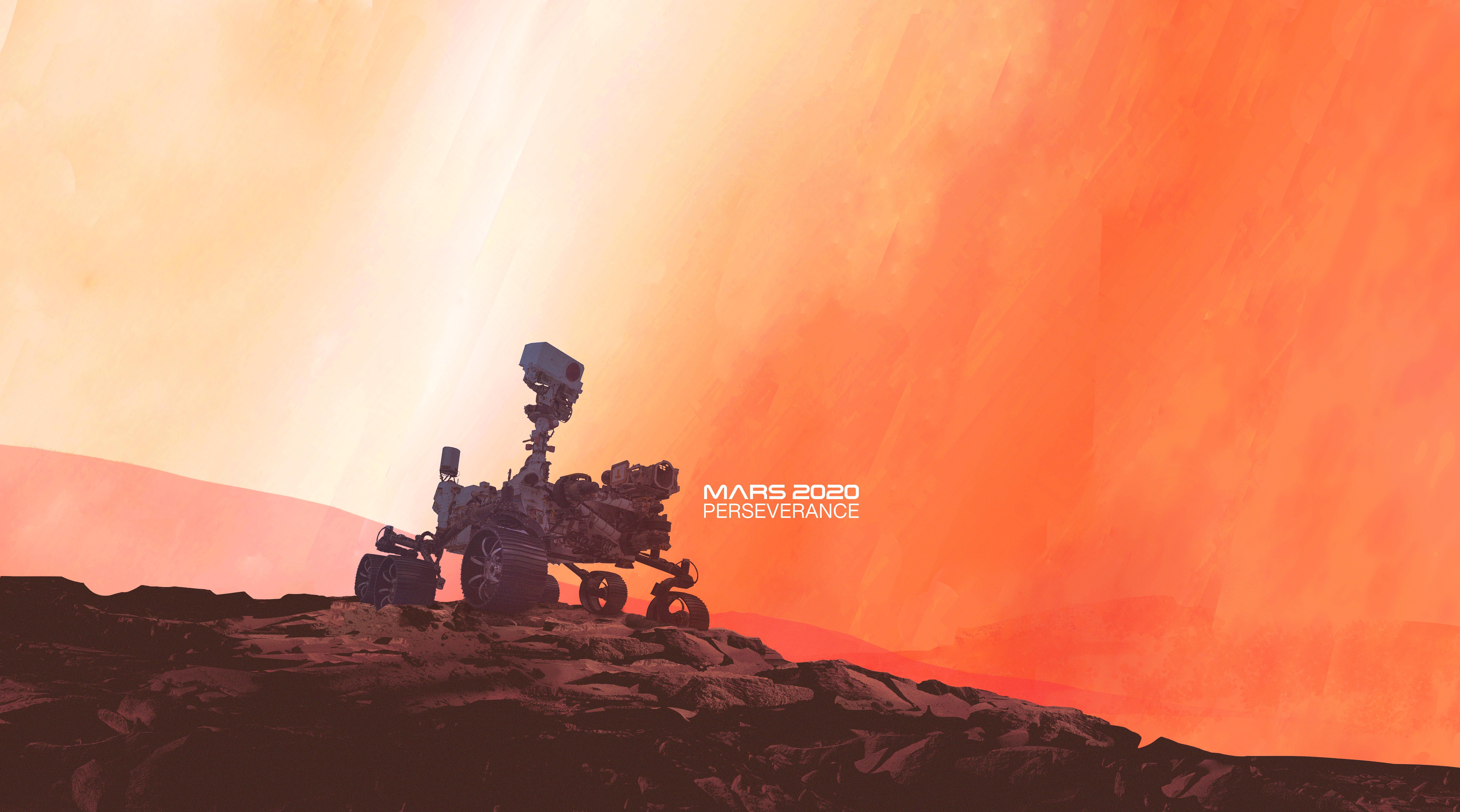 Mars2020 Mars Perseverance poster