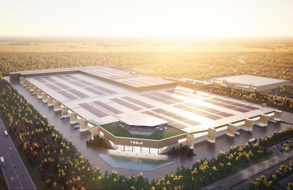 Gigafactory Berlin 3D © Tesla