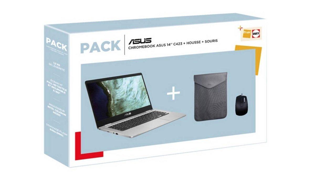 Pack Asus Chromebook housse souris