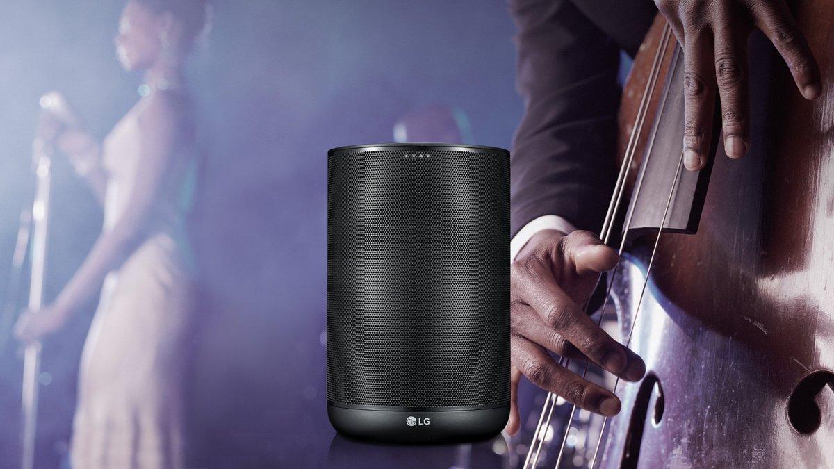 Enceinte Bluetooth LG WK7 Noir 30 Watts © LG