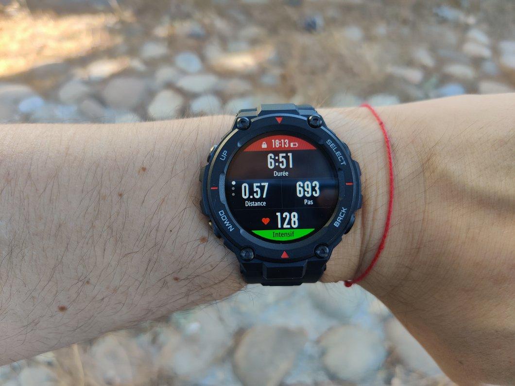 Test Amazfit T Rex : une smartwatch sport qui mise sur la