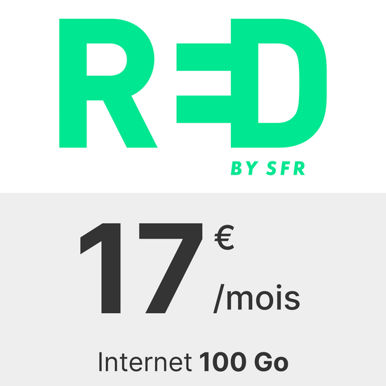 RED by SFR 100 Go