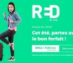 Forfait mobile : profitez de l'offre  RED 80 Go à 14€/mois avant ce soir minuit !