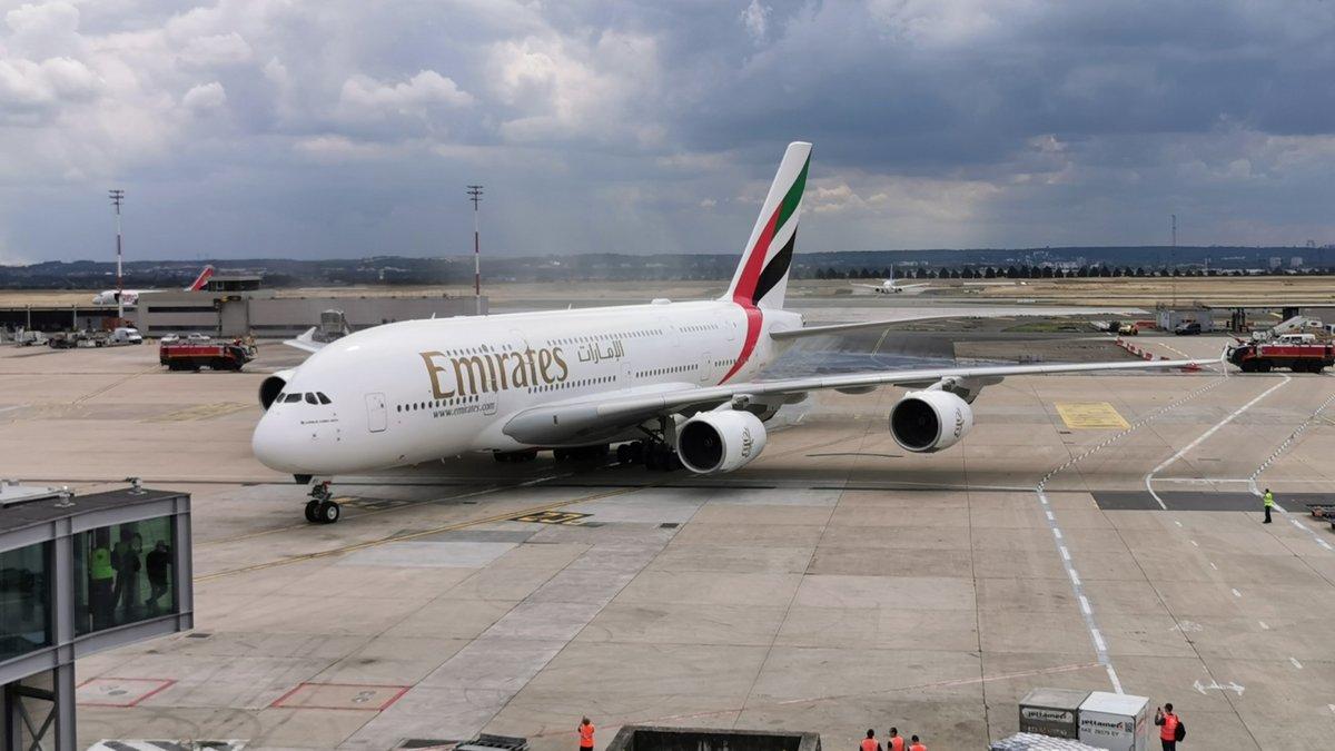 Emirates A380 Roissy-Charles de Gaulle © Alexandre Boero pour Clubic