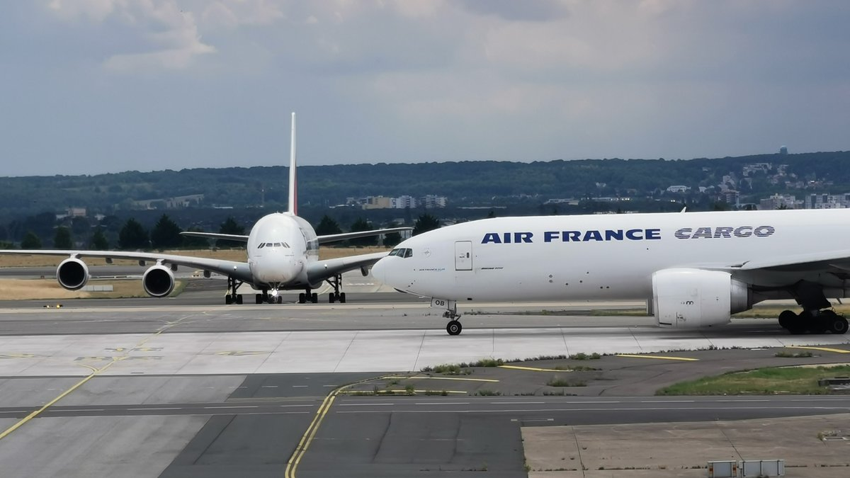 Air France Cargo - Emirates A380 © © Alexandre Boero pour Clubic