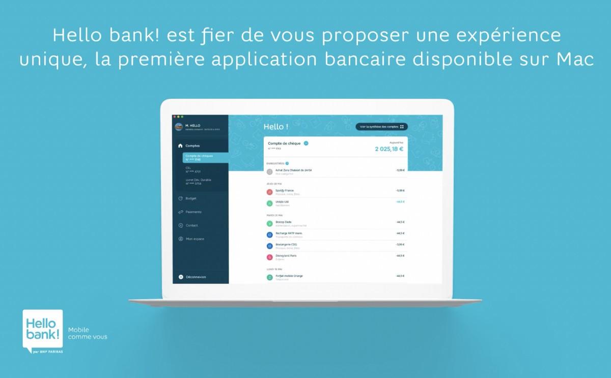 Hello Bank MacOS
