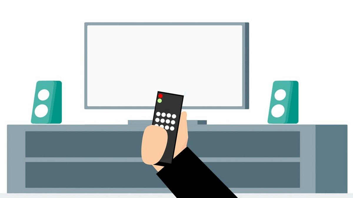 Télévision télécommande TV © Pixabay