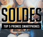 Top 5 des smartphones haut de gamme en promotion pour les soldes d'été 2020 !