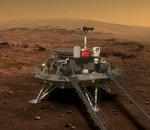 Sans faute ! La Chine réussit à poser le petit rover Zhurong à la surface de Mars