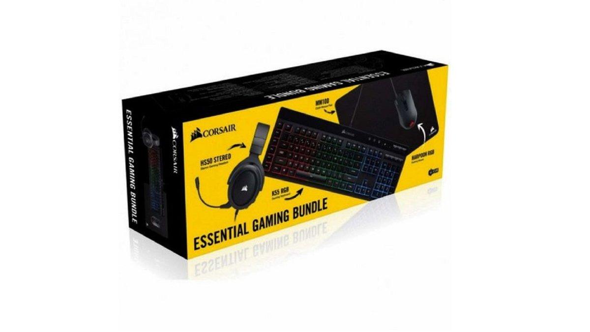 Pack gaming Corsair