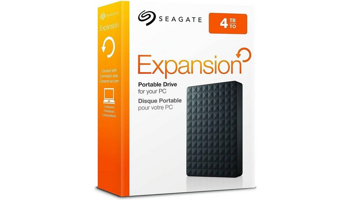 disque dur Seagate Expansion 4 To