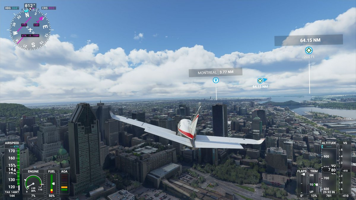 Flight Simulator 2020 © Nerces