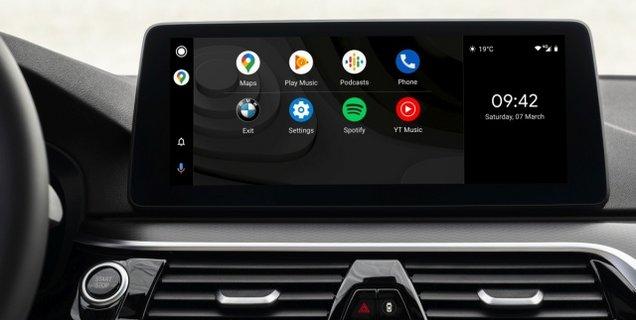 Les BMW reçoivent la prise en charge d'Android Auto en sans-fil