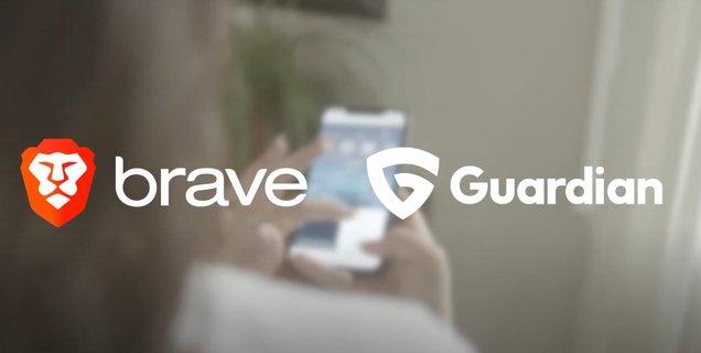 Brave s'associe à Guardian et lance un Firewall + VPN sur iOS à 9,99€ par mois