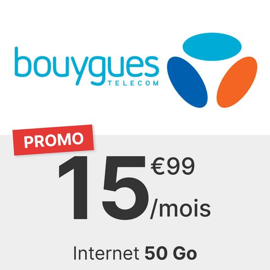 Bouygues 50 Go