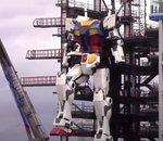 Japon : le Gundam géant commence à s'animer !