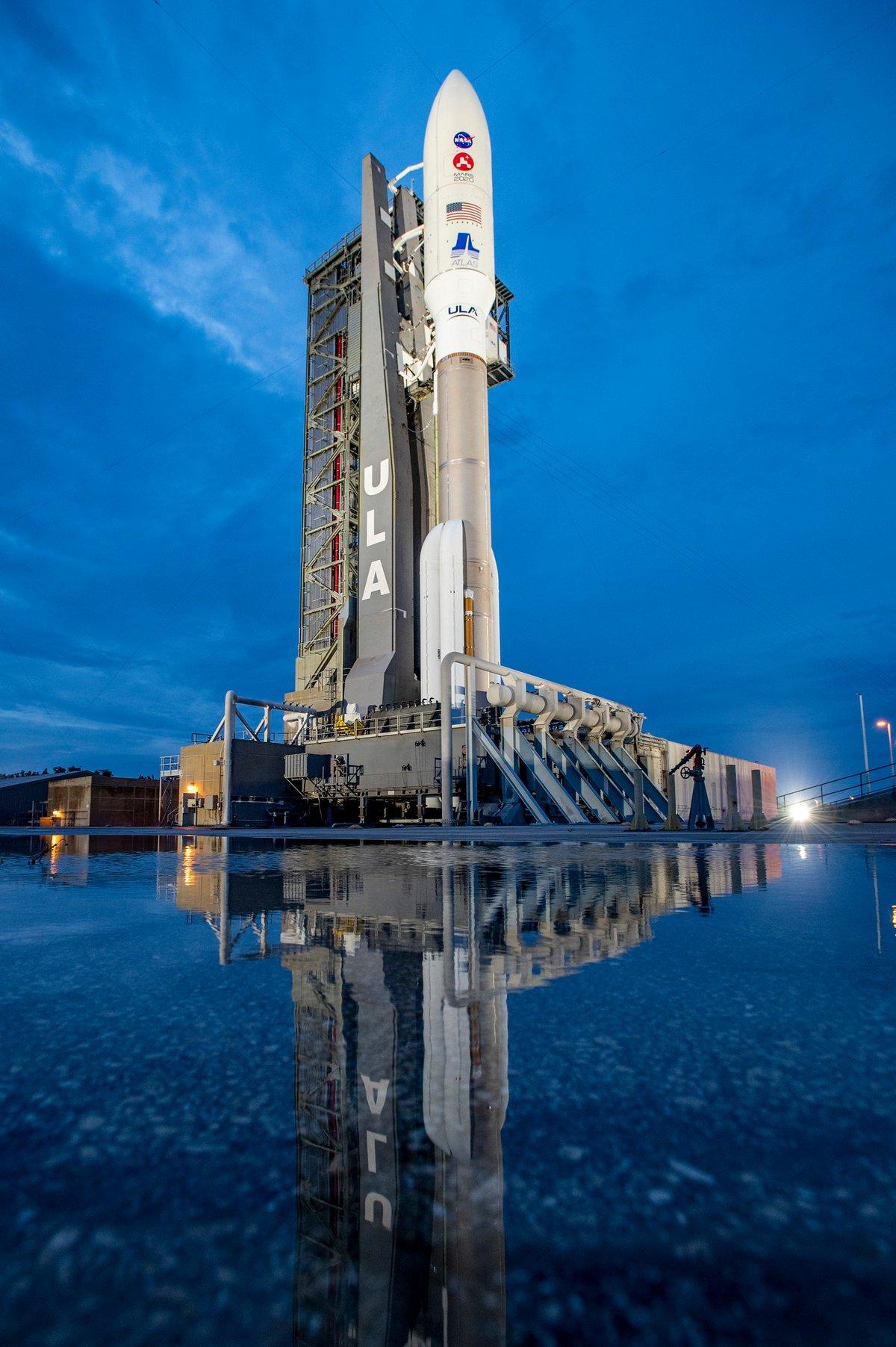 Perseverance pas de tir Atlas V © ULA