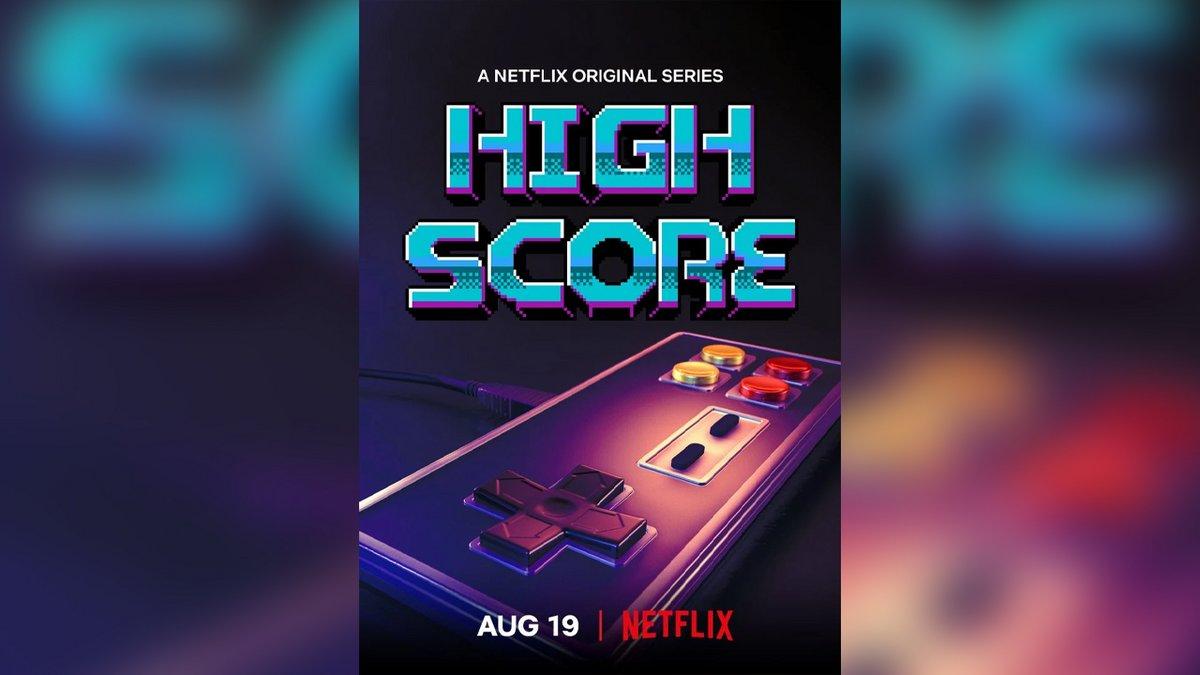 Netflix High Score documentaire jeux vidéo