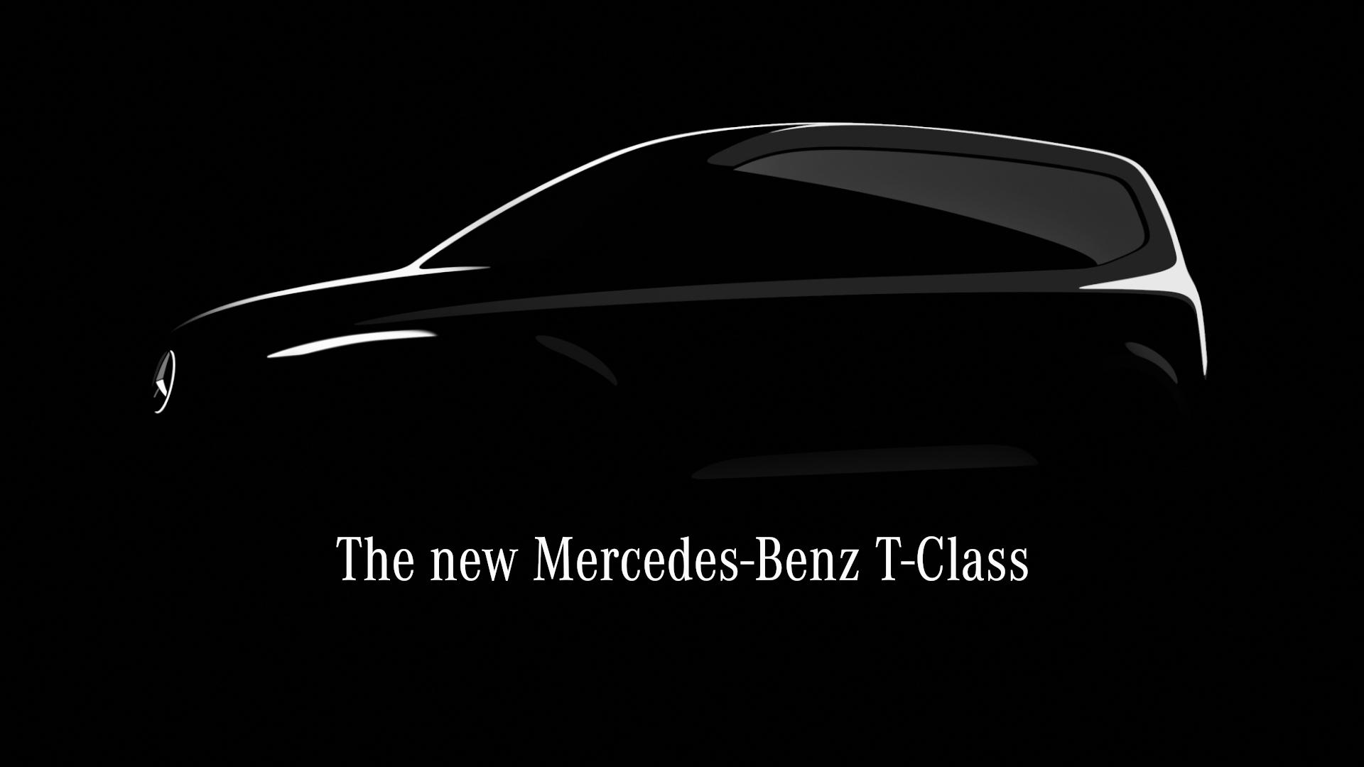Mercedes annonce son nouveau ludospace Classe T avec une version électrique