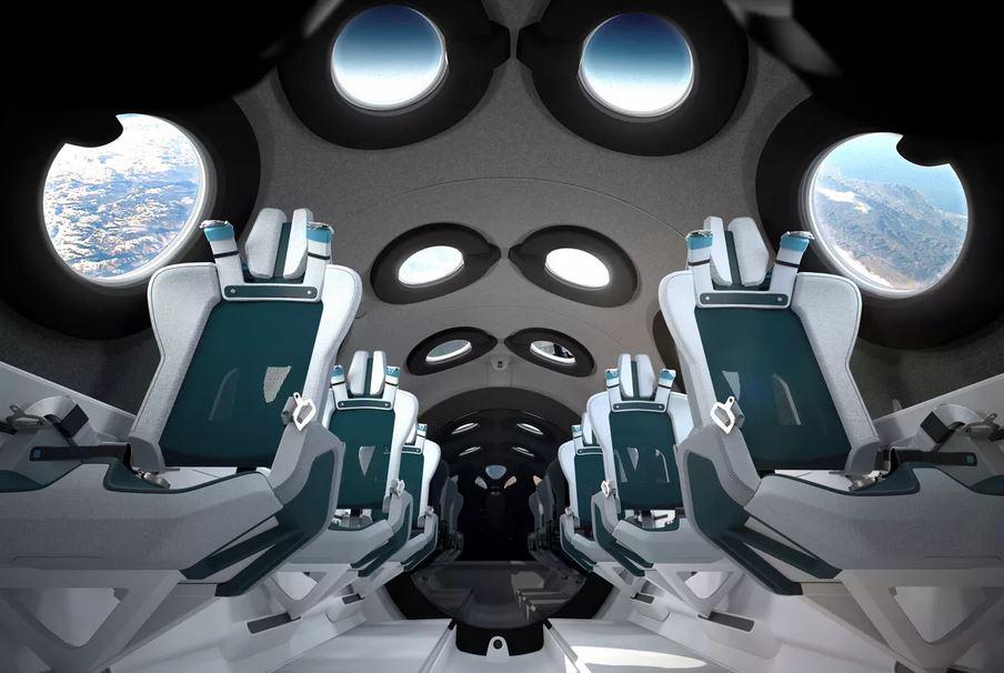 SpaceShipTwo © Virgin Galactic