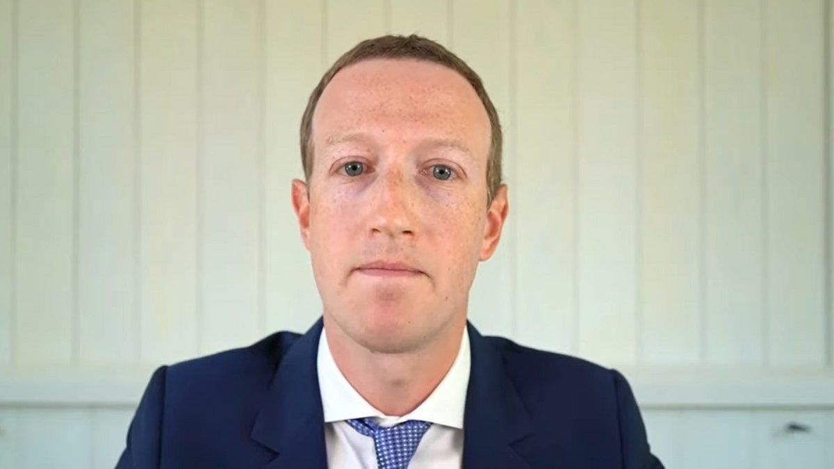 Mark Zuckerberg © US Congress