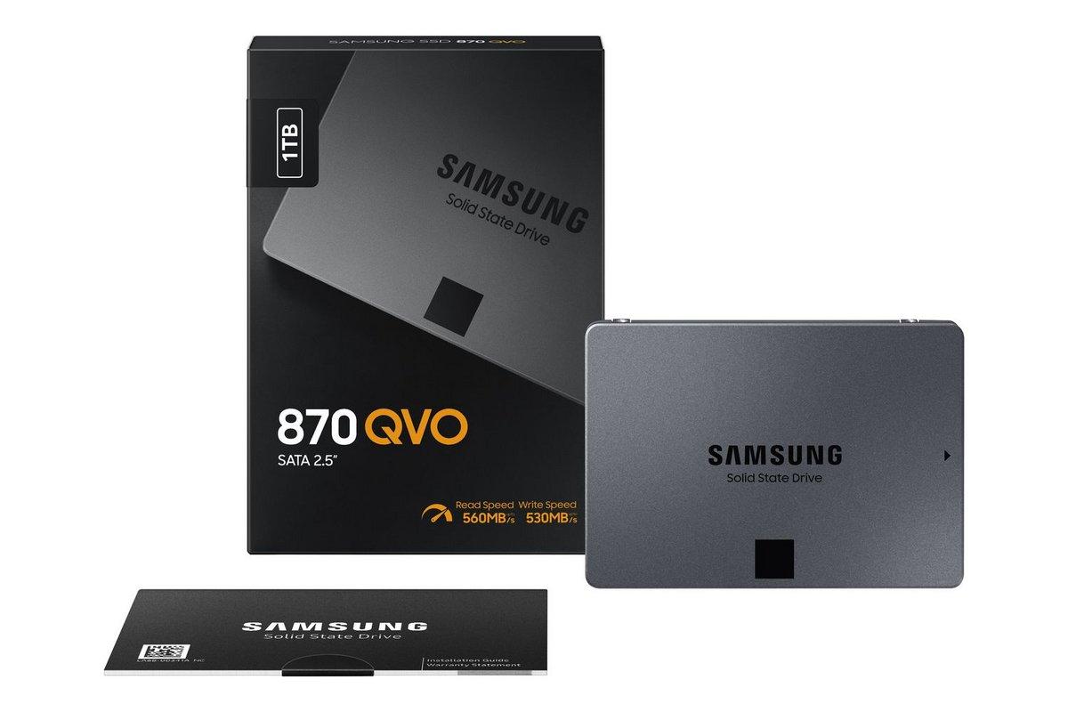 Samsung 870 QVO © Samsung