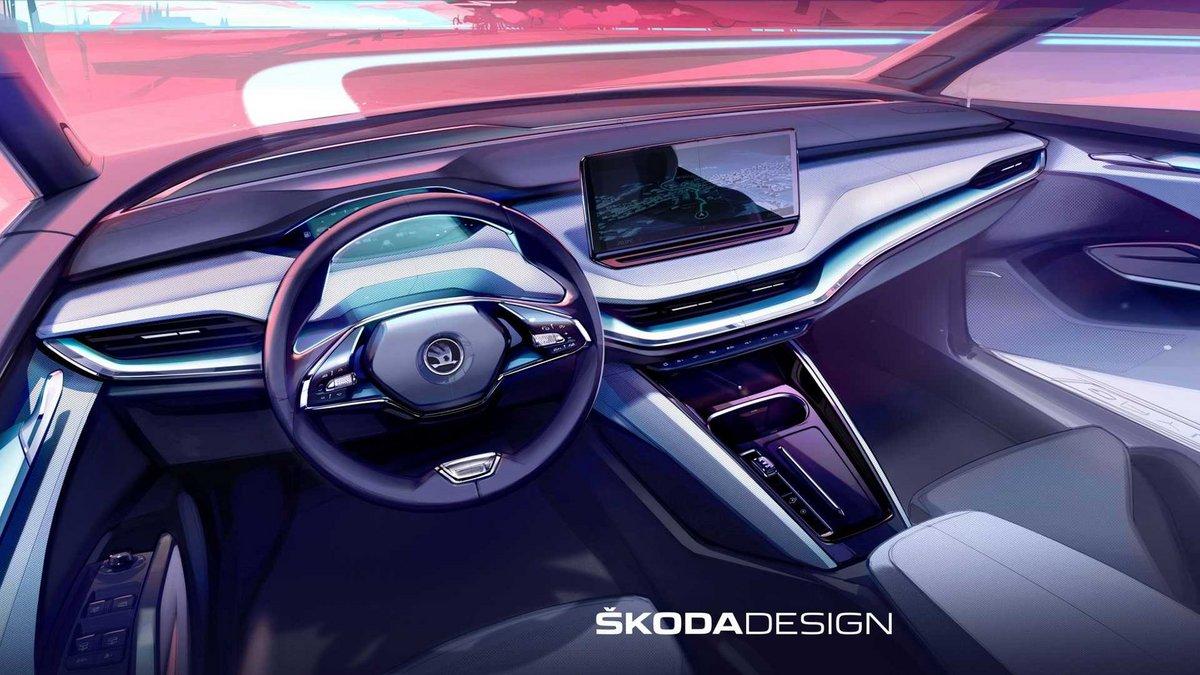 Skoda Enyaq © Skoda Design