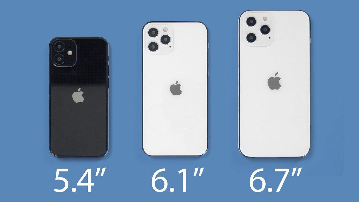 Le lancement des iPhone 12 pourrait se faire en deux temps