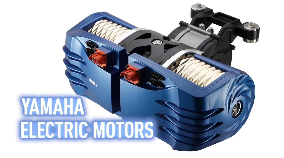 Moteur électrique Yamaha 150 Kw © Yamaha
