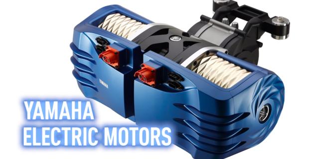 Yamaha présente ses nouveaux moteurs électriques pour moto et voiture
