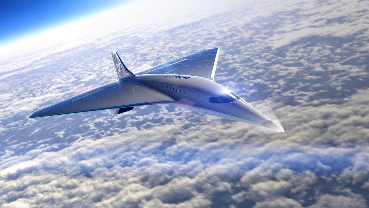 Virgin Galactic supersonique Mach3 © Virgin Galactic