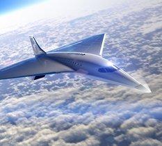 Virgin Galactic dévoile son bilan et son projet d'avion supersonique fonçant à Mach 3