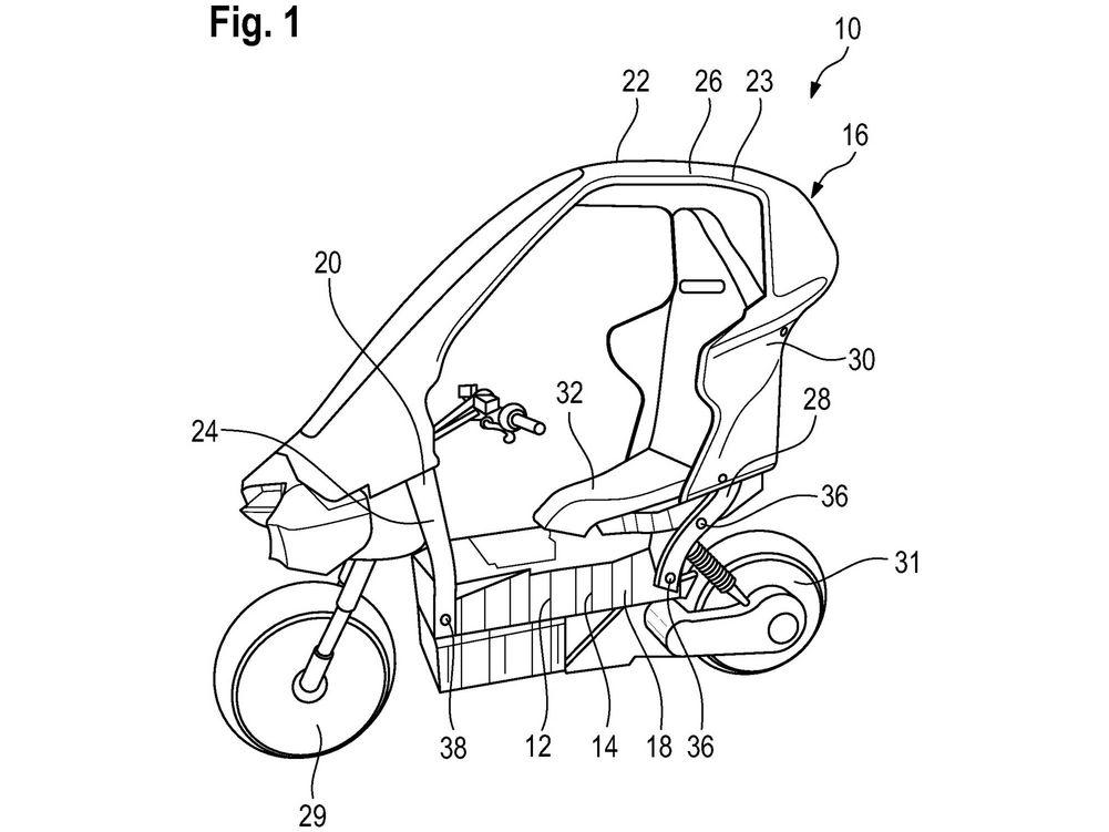 Concept moto électrique urbaine BMW © BMW