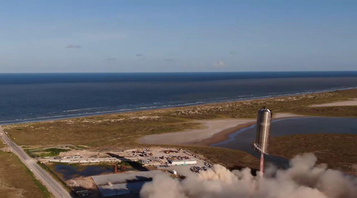 Starship SN5 Test vol 1 © SpaceX