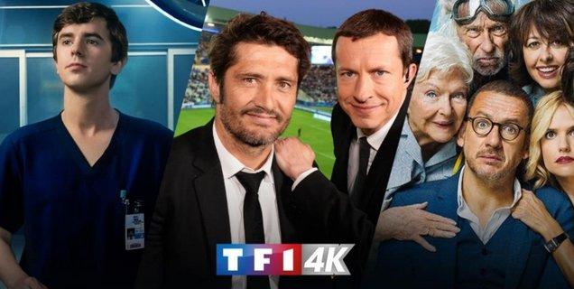 TF1 renforce son offre 4K à destination des abonnés Orange et Bouygues Telecom