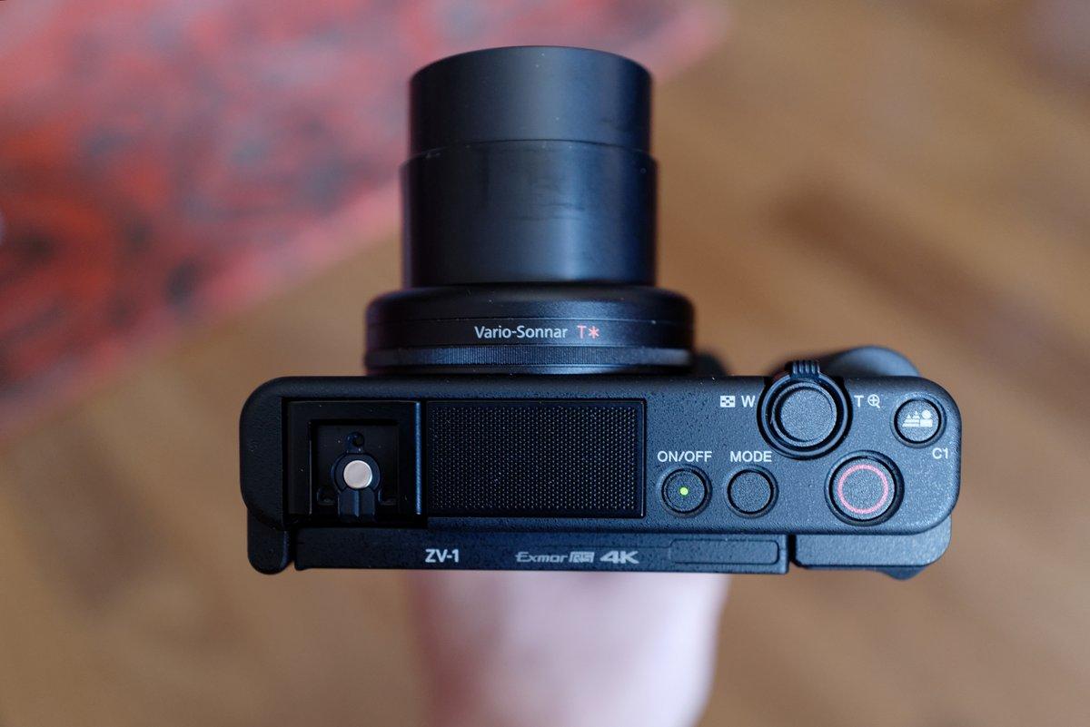 Sony ZV-1 dessus © Clubic - MM