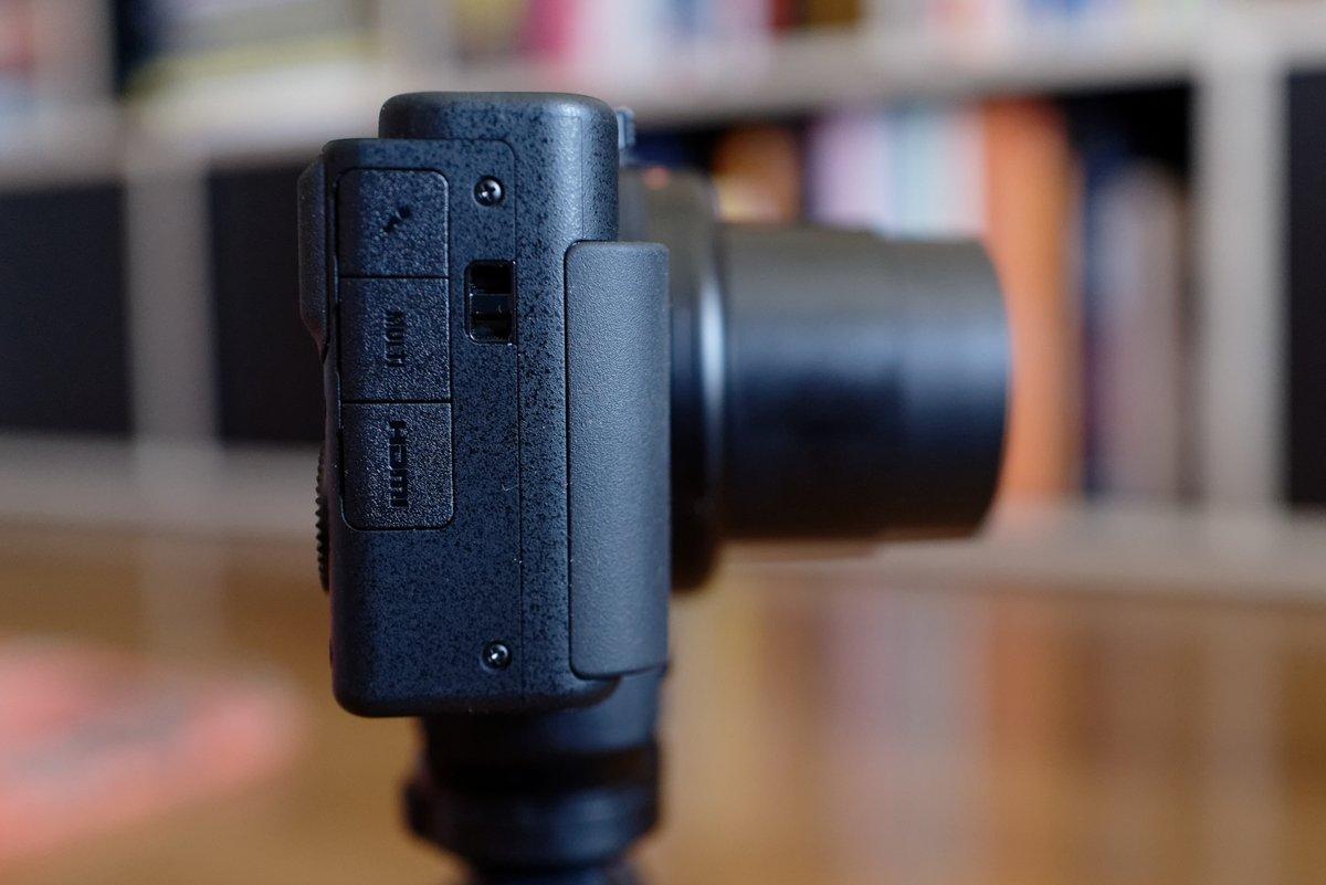 Sony ZV-1 profil © Clubic - MM