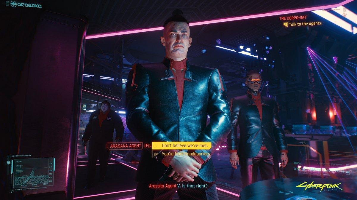 Cyberpunk 2077 Night City Wire 2