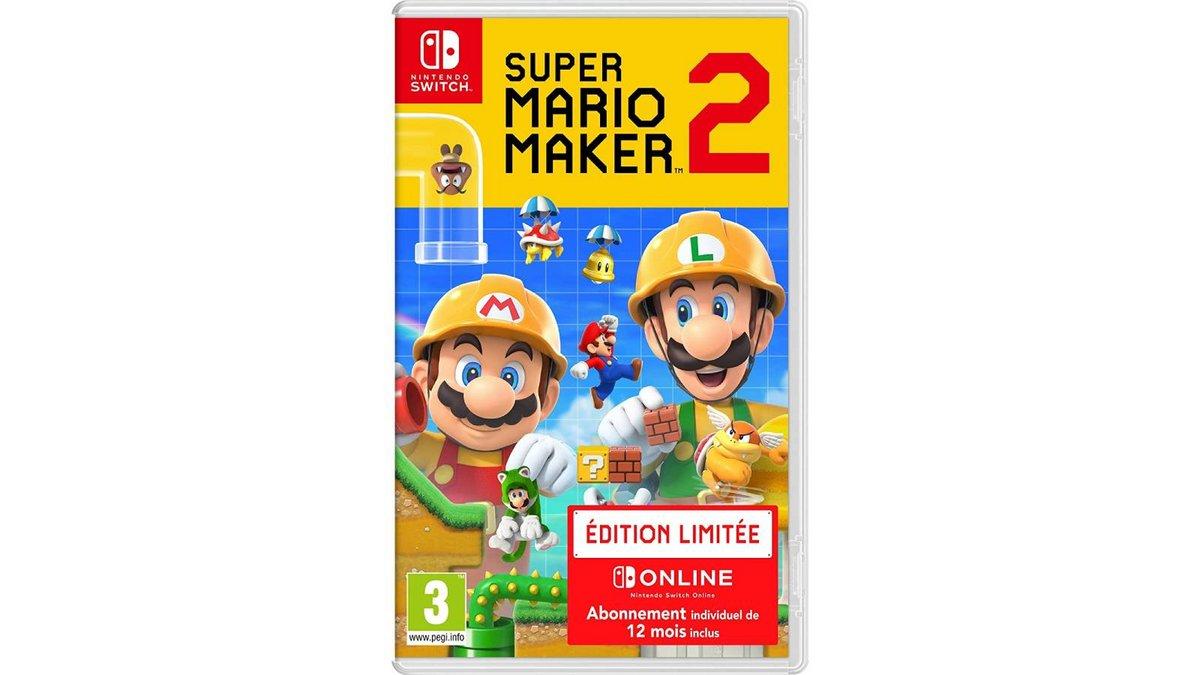 Super Mario Maker 2 sur Switch