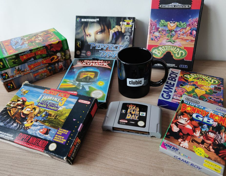 RARE collection jeux
