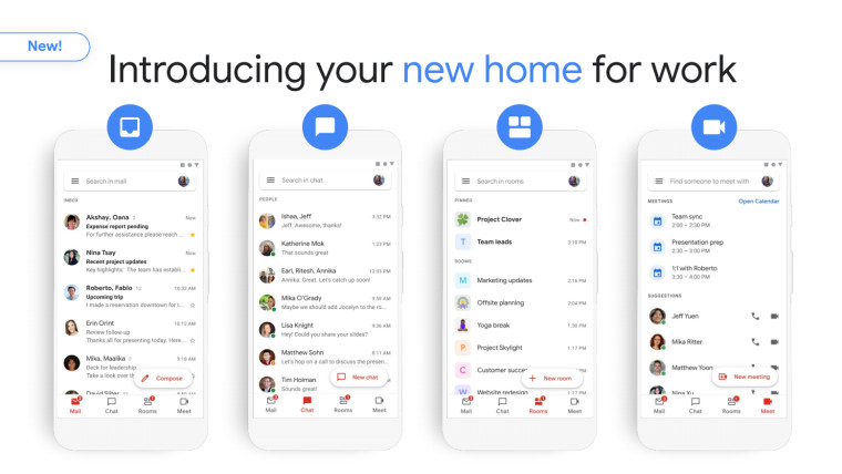 Gmail refonte © Google